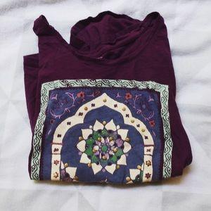 Lucky Brand Motif T-shirt